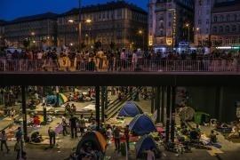 Crisi dei migranti nella stazione ferroviaria principale di Budapest, 2015