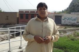 Aitzaz Hassan Bangash, il Braveheart pakistano (foto di News Naji)