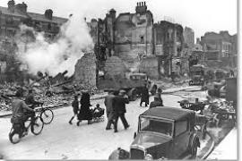 Londra sotto i bombardamenti nazisti (foto di US Federal Government Archives)
