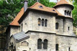 """Una sede del """"museo diffuso"""" nel quartiere ebraico di Josefov, a Praga (foto di Travelerfolio)"""