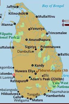 Le forze tamil avevano sede nel nord (foto di Lonely Planet)