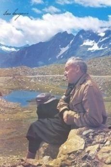 Don Eugenio Bussa al passo Gavia