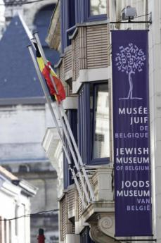 L'ingresso del Museo ebraico di Bruxelles
