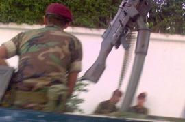 Un militare (Foto di Renata Avila)