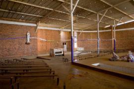 Il memoriale della chiesa di Nyamata