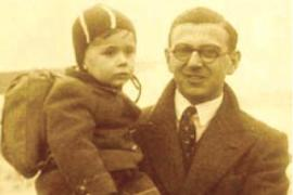 Nicholas Winton e uno dei piccoli salvati