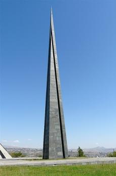 Il memoriale del genocidio armeno a Yerevan (Foto di Rita Willaert)