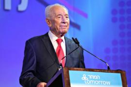 Il Presidente israeliano Shimon Peres