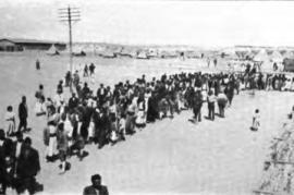 La deportazione degli armeni (Foto da Wikimedia Commons)