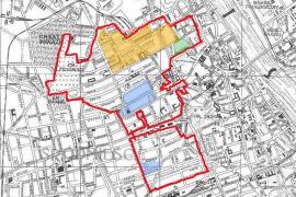 Mappa del Ghetto (Da Wikipedia)