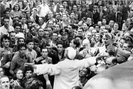 Pio XII a San Lorenzo