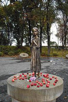 Amaro ricordo dell'infanzia (Kiev, Memoriale dell'Holodomor)