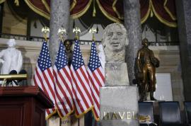 il busto per Václav Havel