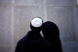 Ebrei al Museo della Shoah di Parigi