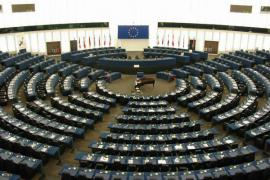 L'emiciclo del Parlamento europeo di Strasburgo