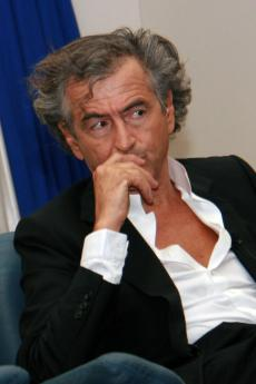 Il filosofo francese Bernard-Henri Lévy