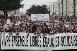 Manifestazione a Parigi contro il terrorismo islamico