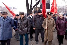 Sostenitori del Partito Comunista dell'Ucraina