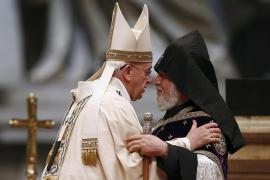 Papa Francesco e Karekin II