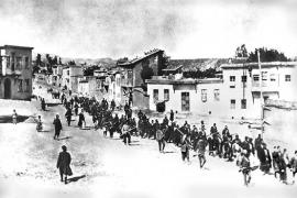 La marcia degli Armeni