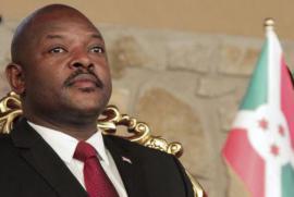 Il Presidente del Burundi Pierre Nkurunziza