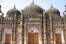 Un'importante moschea in Bangladesh