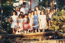 Hrant e Rakel Dink con i bambini ospiti di Kamp Armen