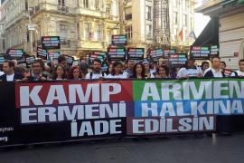 Manifestazione per salvare Kamp Armen, Istanbul