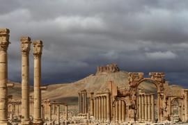 Palmira prima della distruzione