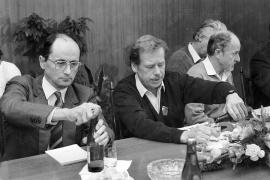 Ján Čarnogursky  e Vaclav Havel