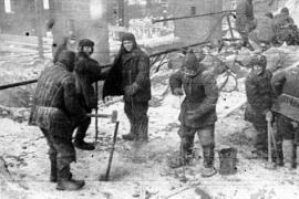 Prigionieri del GuLAG al gelo