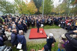 Gabriele Nissim alla cerimonia al Giardino dei Giusti