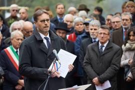 Olivier Brochet al Giardino dei Giusti di Milano