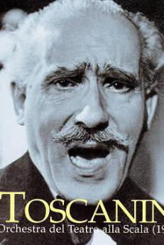 Arturo Toscanini, la copertina di un disco
