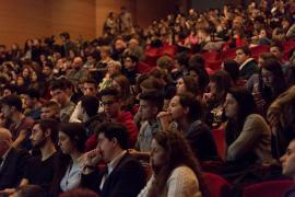"""Il pubblico all'evento """"Fumetto e Memoria"""""""