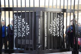 Il Monumento per i Giusti tra le Nazioni di Atene