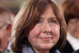 La Premio Nobel bielorussa Svetlana Aleksievic