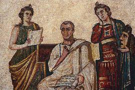 Il mosaico di Virgilio al Museo del Bardo