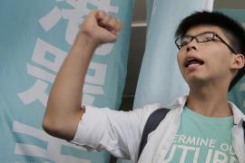 L'attivista di Hong Kong Joshua Wong