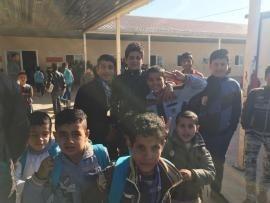 I ragazzi ospitati nel campo rifugiati di Arbat, Kurdistan iracheno