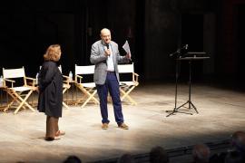 Gabriele Nissim e Andrée Ruth Shammah al Teatro Franco Parenti