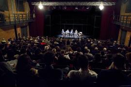 Gerard Malkassian, Marcello Flores, Gabriele Nissim e Yair Auron al Teatro Franco Parenti