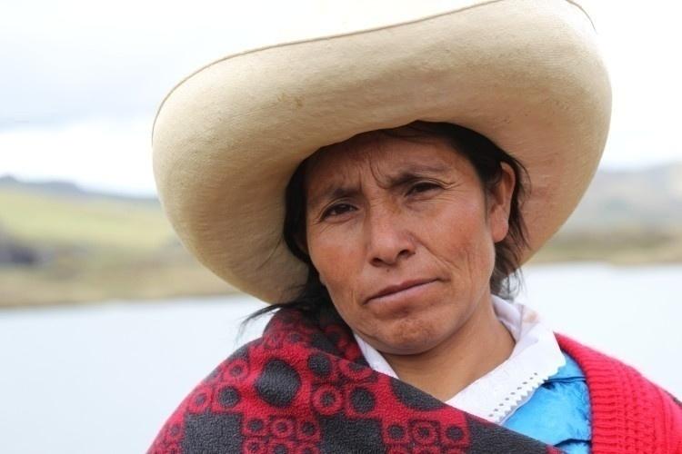 L'attivista peruviana Máxima Acuña