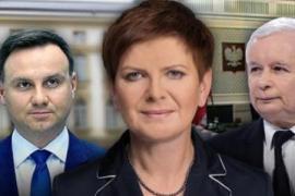 """L'insediamento del nuovo governo polacco, da molti ritenuto """"populista"""""""