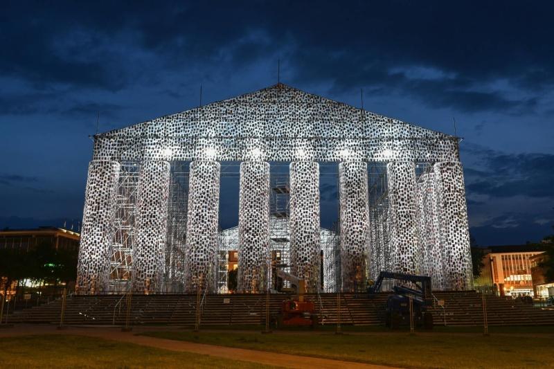 Il Partenone dei libri proibiti, monumento simbolo contro la censura