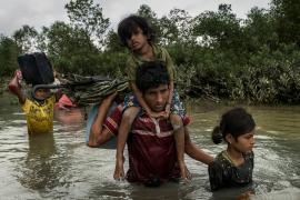 Giovanissimi rifugiati Rohingya