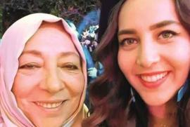 La dissidente siriana Ourouba Barakat e la figlia Halla, giornalista