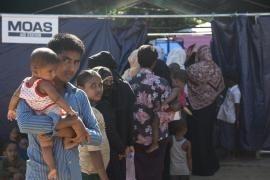 La Aid Station MOAS a Shamlapur
