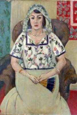 """""""Una donna seduta su una sedia"""" di Henri Matisse fa parte dell'arte sequestrata a Gurlitt"""