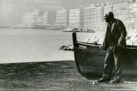 Gustaw Herling a Napoli nel 1987